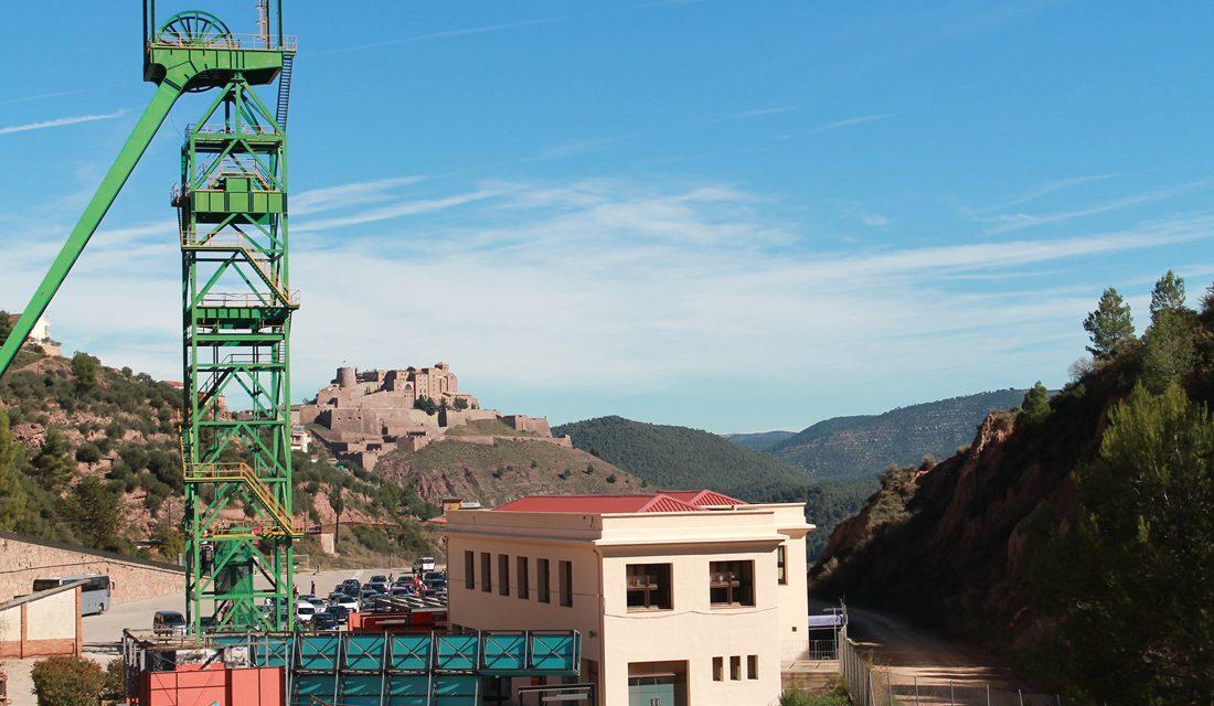 Visita a les Mines de sal de Cardona amb nens
