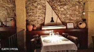 Interior del restaurant El Llagut de Tarragona