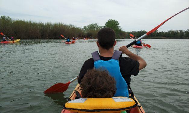 Ocells i kayak a Sant Pere Pescador, una de les activitats de Catalunya, Hola família!