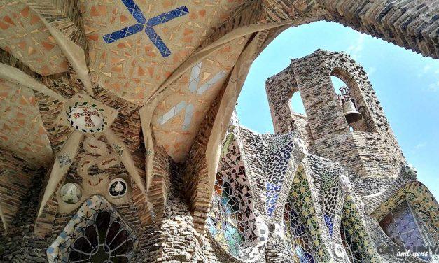 La Cripta de Gaudí a la Colònia Güell de Santa Coloma de Cervelló