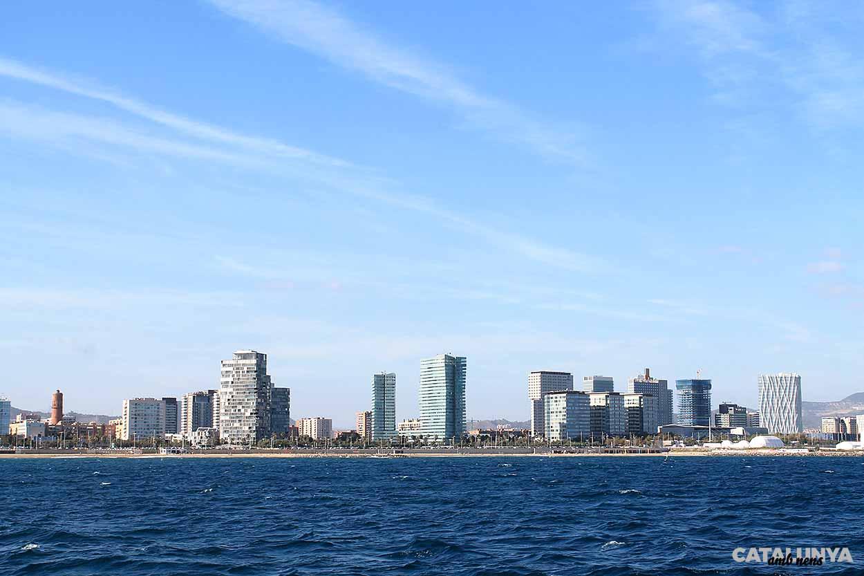 Façana litoral de Barcelona