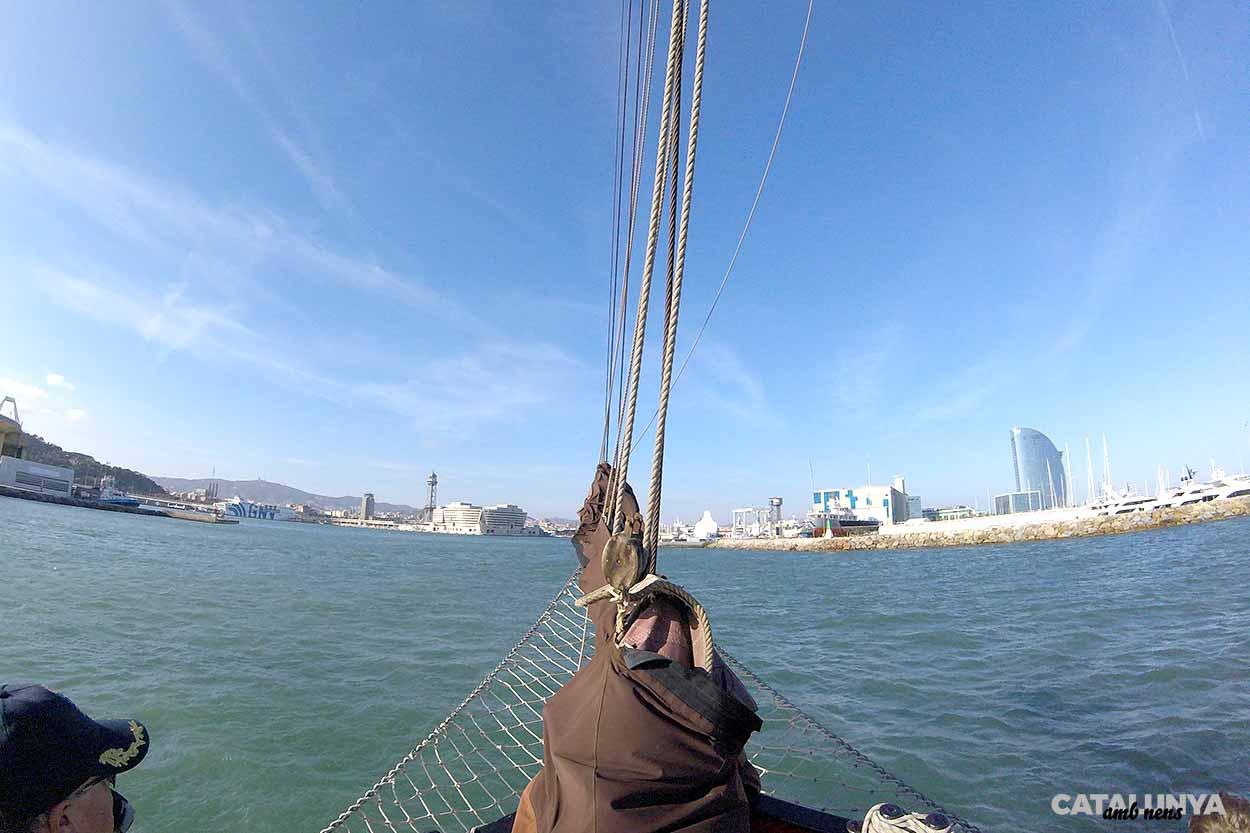 Proa cap al Port de Barcelona