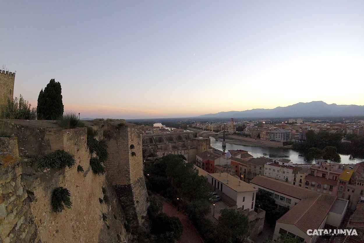 Capvespre al Castell de la Suda de Tortosa