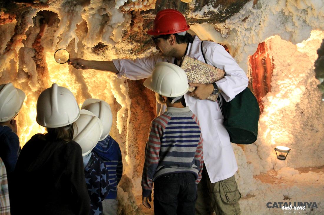 Visita amb nens a les Mines de Sal de Cardona