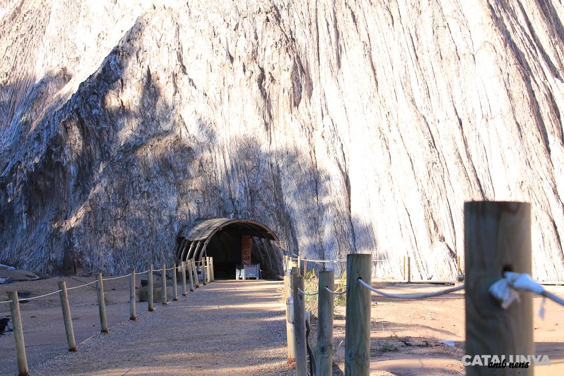 Entrada a la Mina de sal de Cardona