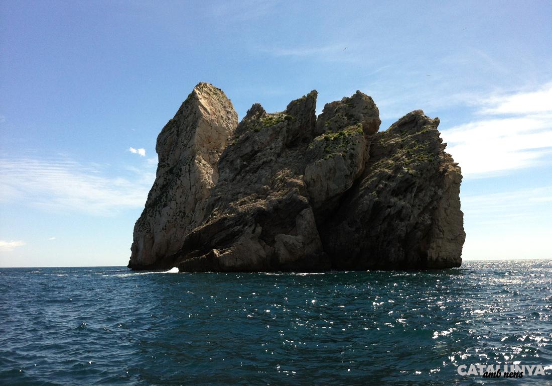 El Carall Bernat forma part del conjunt de les Illes Medes