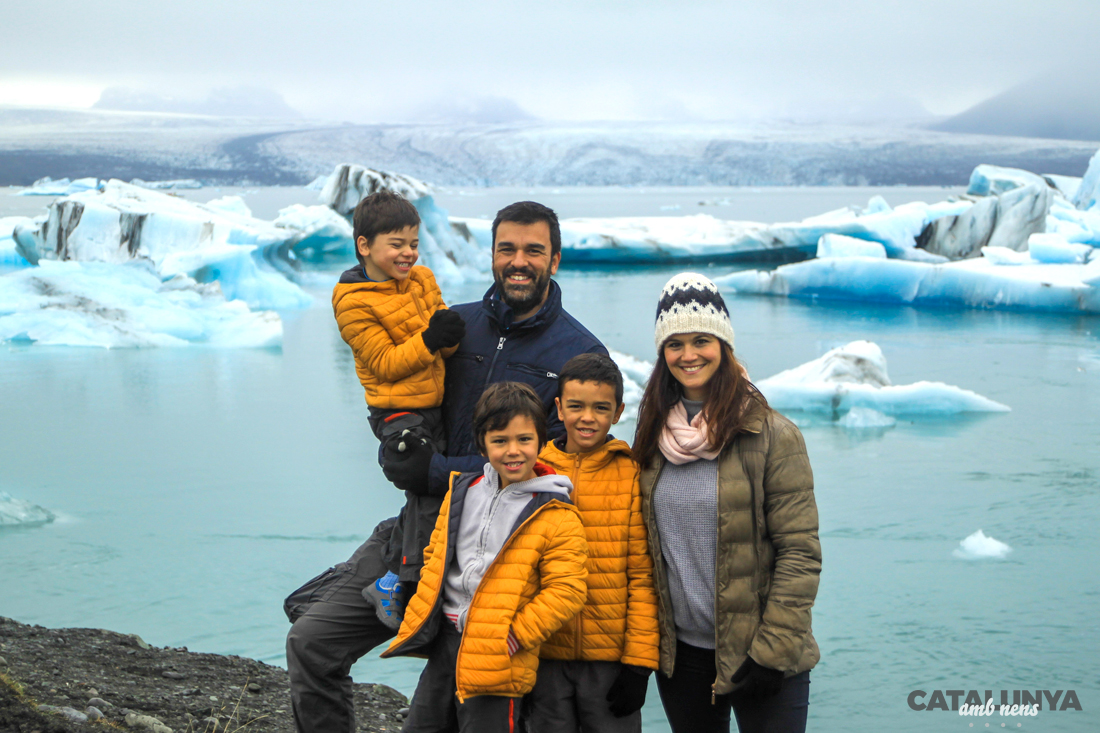 Sandra Vicente i família