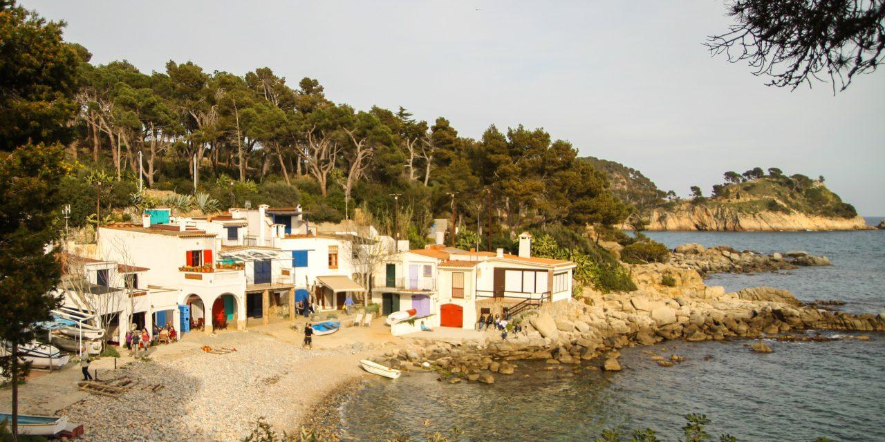 La Cala S'Alguer, un racó de pescadors a la Costa Brava