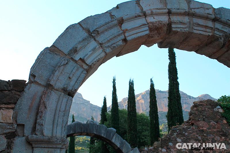 Arcs d'entrada a Escaladei