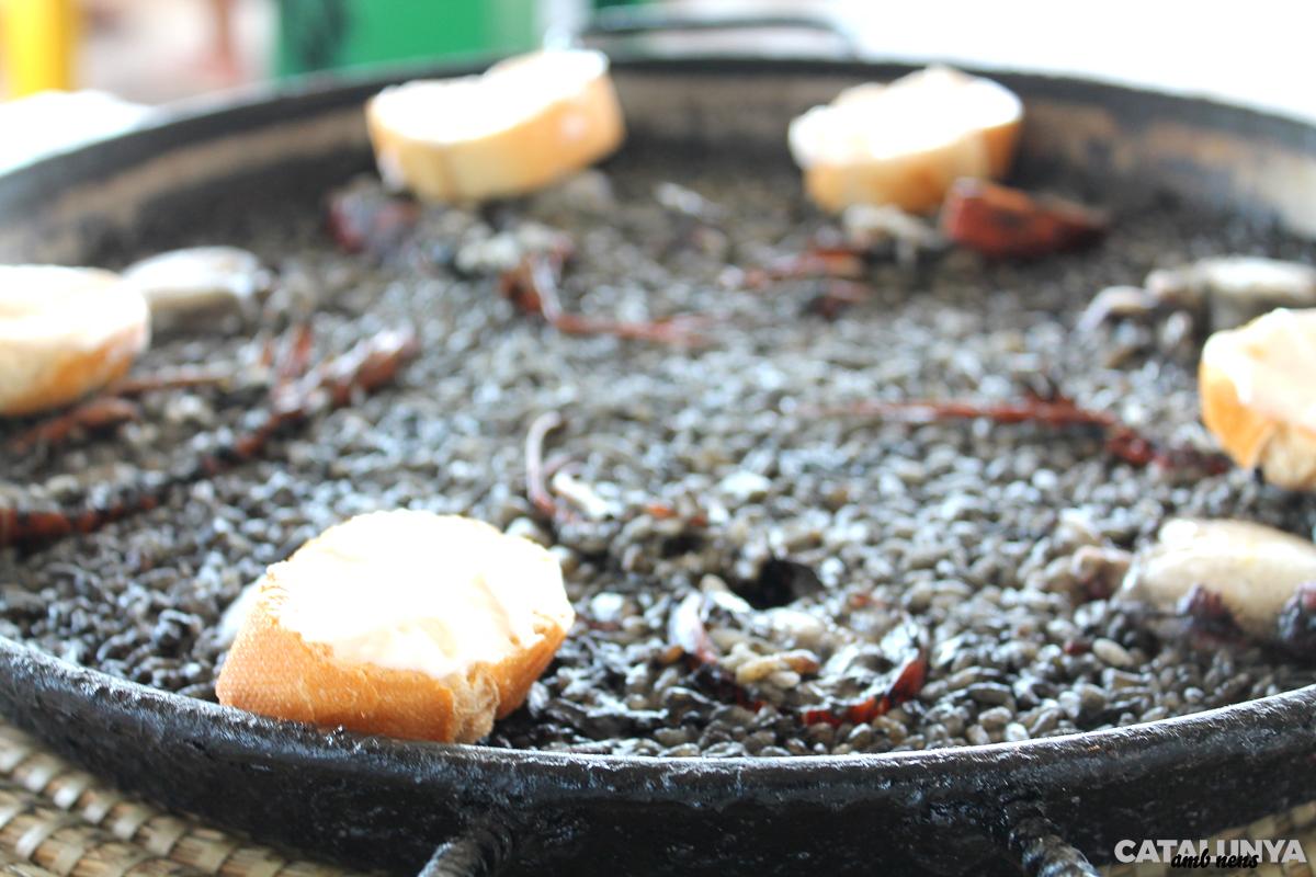 Arròs negre del Xiringuito de la Costa
