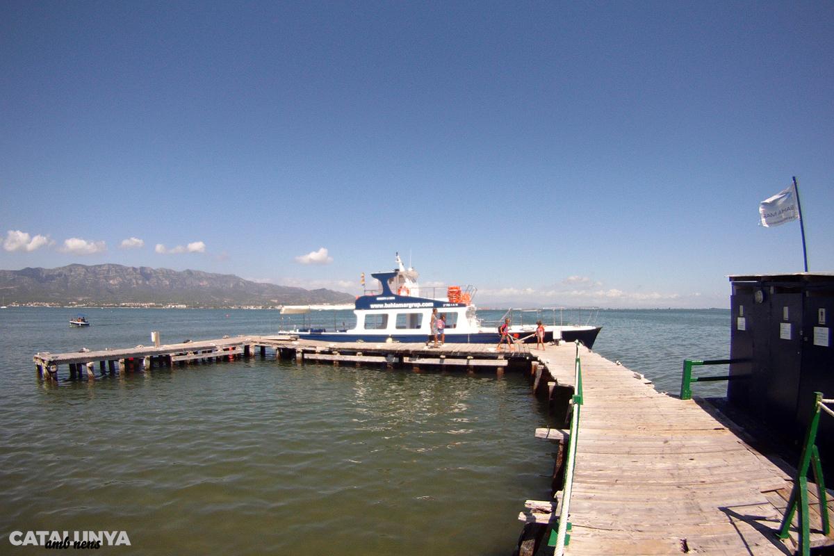 Al Xiringuito de la Costa s'hi accedeix per mar