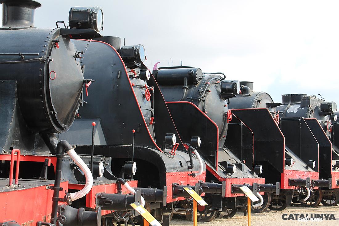 Museu del Ferrocarril a Vilanova i la Geltrú