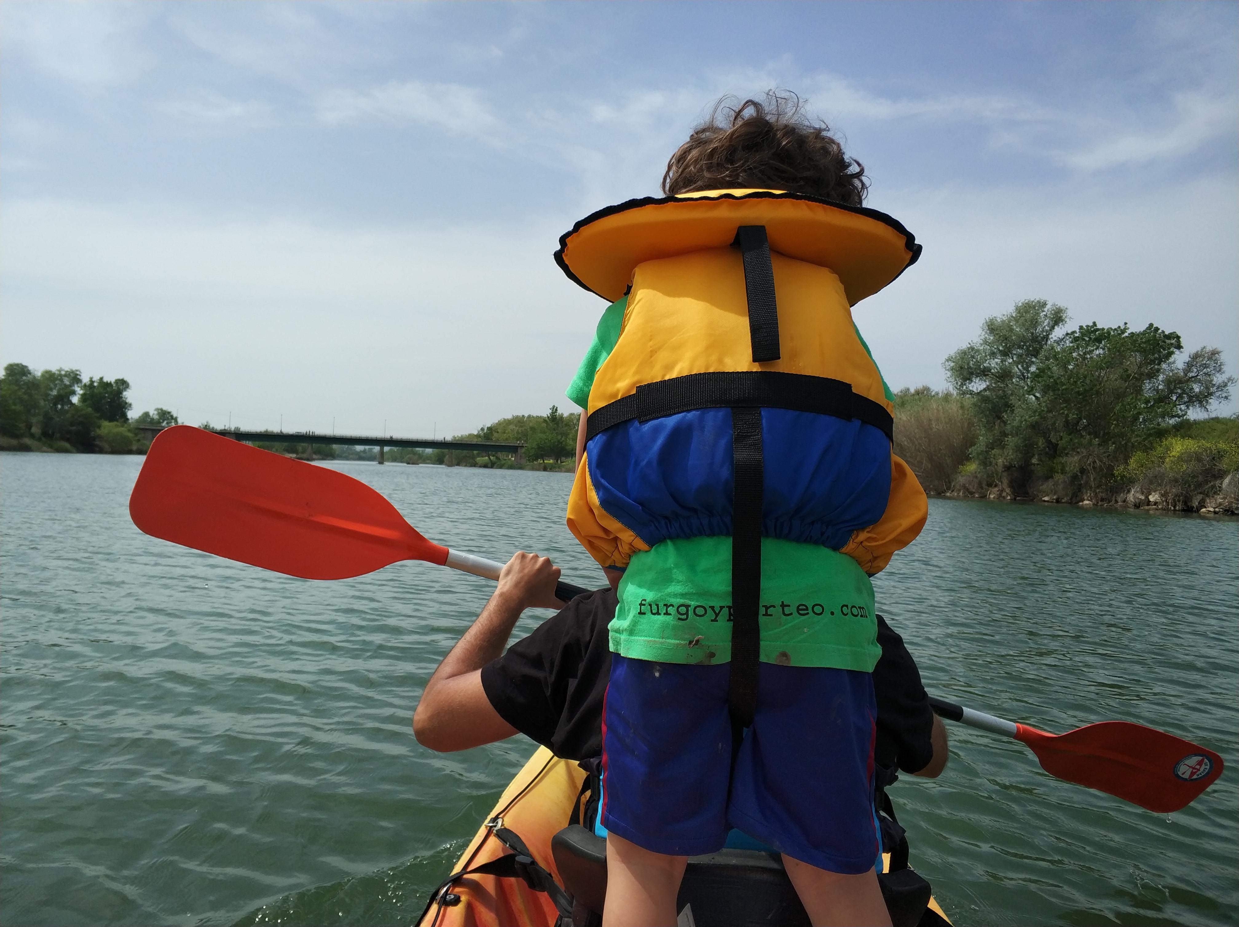 Ocells i kayak a Sant Pere Pescador