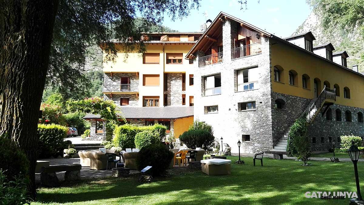 Entorns de l'Hotel Castellarnau, Lleida