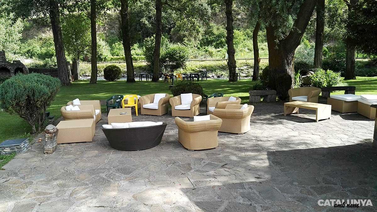 Jardins a Hotel Castellarnau